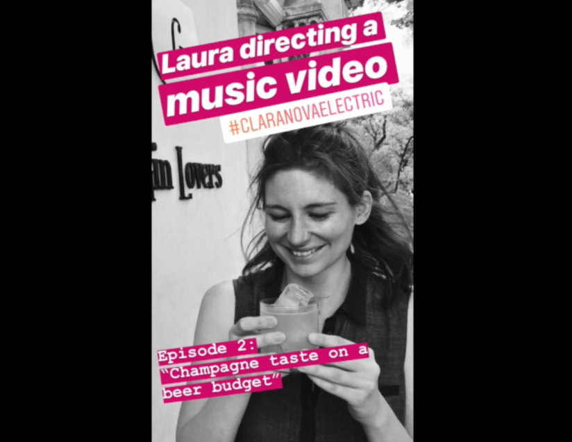 Laura Directing a Music Video, Episode 2